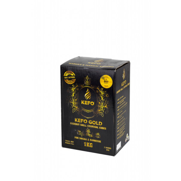 Въглени за наргиле Kefo Gold 1кг.
