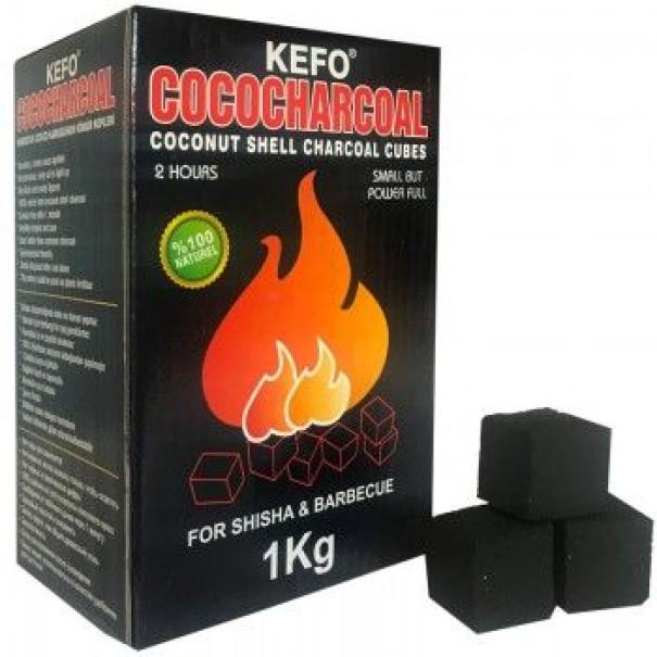 Въглени за наргиле Kefo Red 1кг.